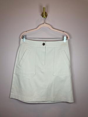 Ann Taylor Factory Tan Pocket Skirt - Size 8