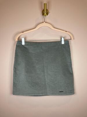 Abercrombie & Fitch Grey Velvet Skirt - Size 4