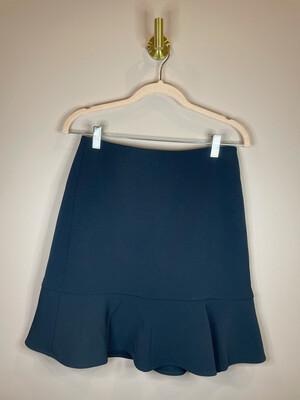Ann Taylor Navy Peplum Skirt - Size 0