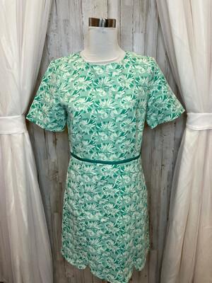 Draper & James Mint Dress w/Ribbon Waist & Pockets - Size 10