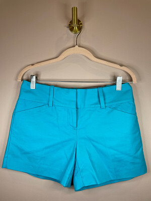 Ann Taylor Turquoise Signature Shorts - Size 0