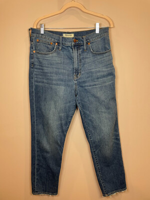 Madewell Perfect Vintage Crop Jeans - Size 31