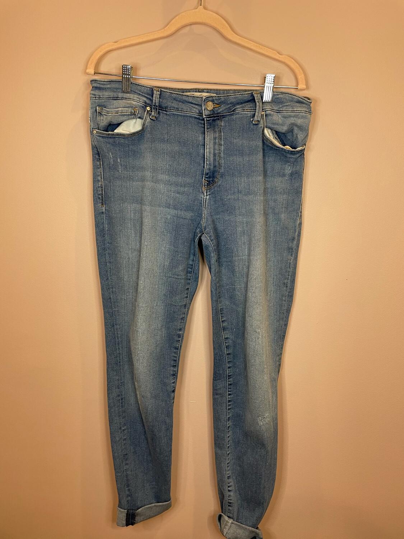 Mavi Jeans Alissa High-Rise Super Skinny Jeans - Size 32