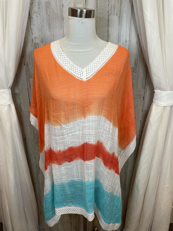 Amita Naithani Tie Dye Oversized Flow Top - S/M