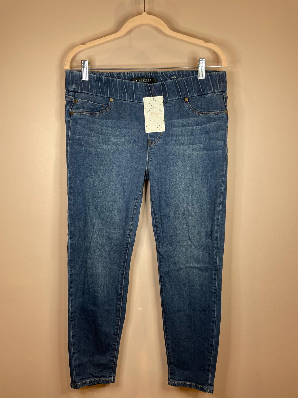 Liverpool Denim Legging - Size 12/31