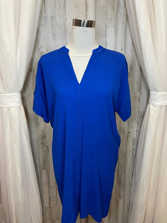 Vince Royal Blue Pocket Dress - S
