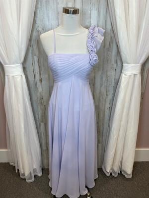 Allure Bridals Bridesmaids Lavender Dress - Size 8