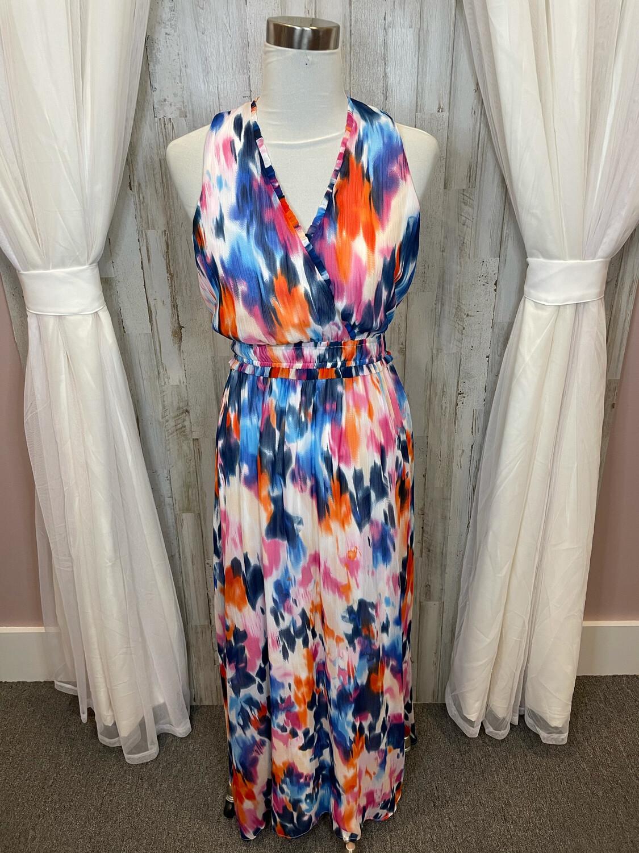 London Times Multicolor Dress - Size 4