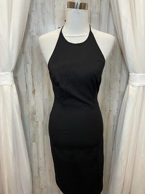 Ann Taylor Black Halter Dress - Size 2