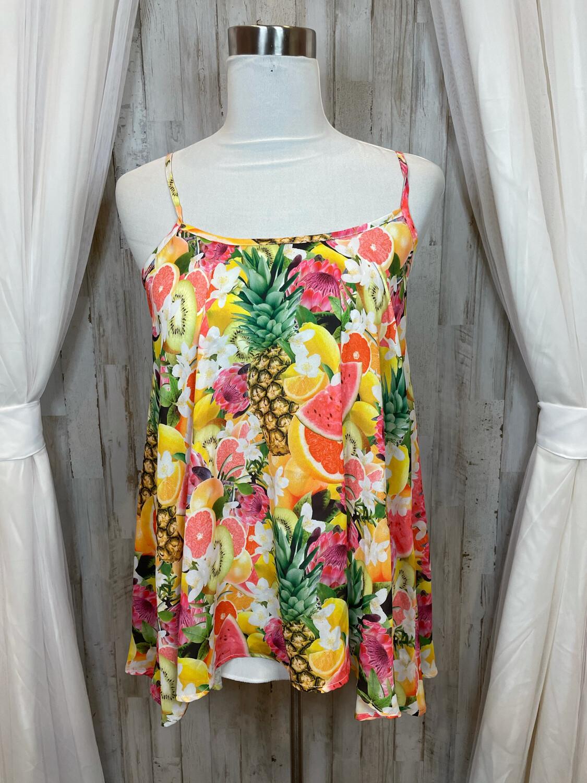 Show Me Your MuMu Tropical Fruit Tank - XS