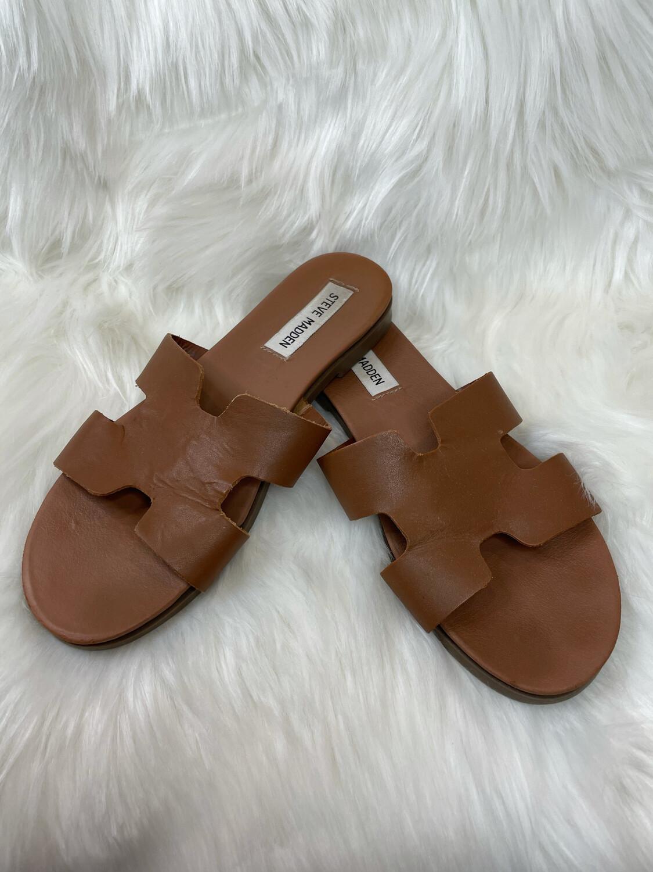 Steve Madden Brown Grecian Sandals - Size 7