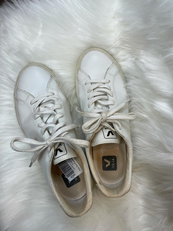 Veja White Sneakers - Size 8