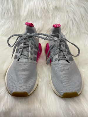 Adidas Grey Boost Athletic Shoes - Size 6.5