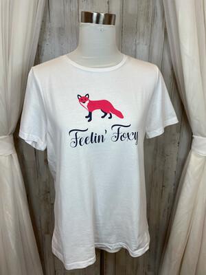 Draper & James Feelin' Foxy Tee - L