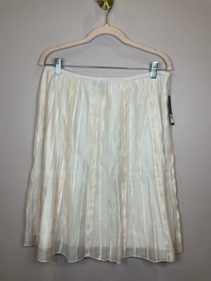 Nic + Zoe Blush Flare Skirt - Size 12