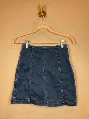 Free People Denim Skirt - Size 0
