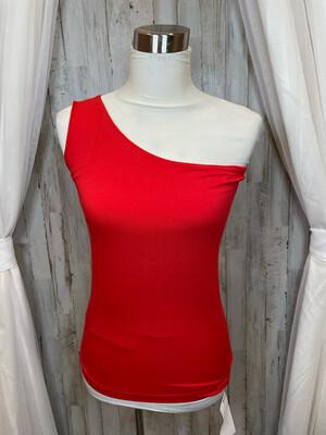 Baukjen Red Single Sleeve Fitted Top - Size 6