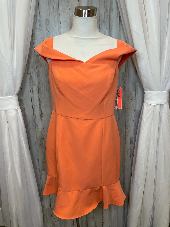 Gianni Bini Tangerine Dress - Size 12