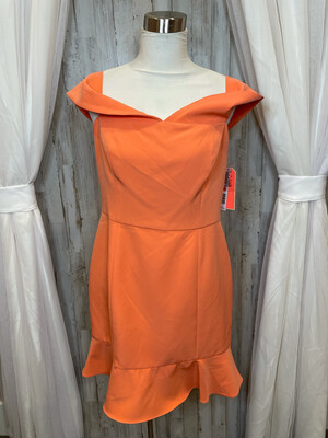 Gianni Bini Tangerine Dress - Size 12