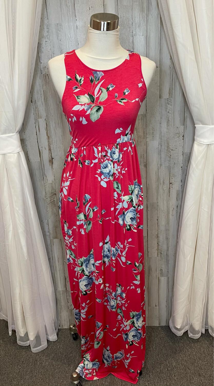 Bellamie Pink Floral Dress - M