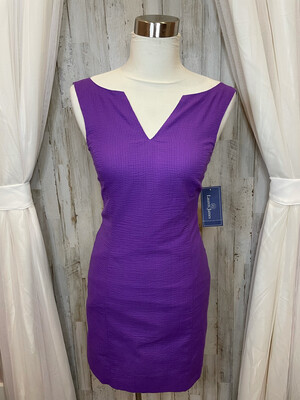 Lauren James Purple Sleeveless Dress - XS