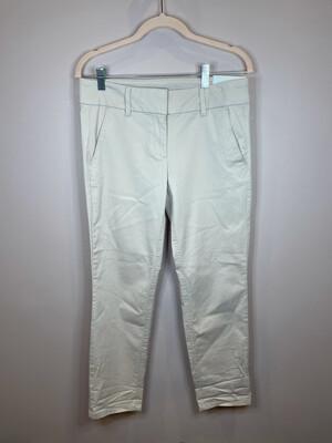 LOFT Light Khaki Modern Chino Crop Pants - Size 2