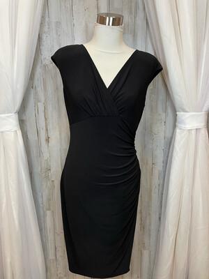 Lauren Black Cinch Dress - Size 8