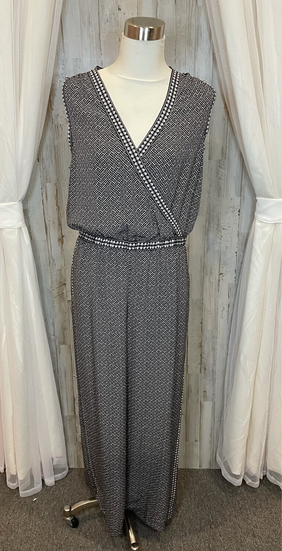 Max Studio Black & White Pattern Sleeveless Dress - XL