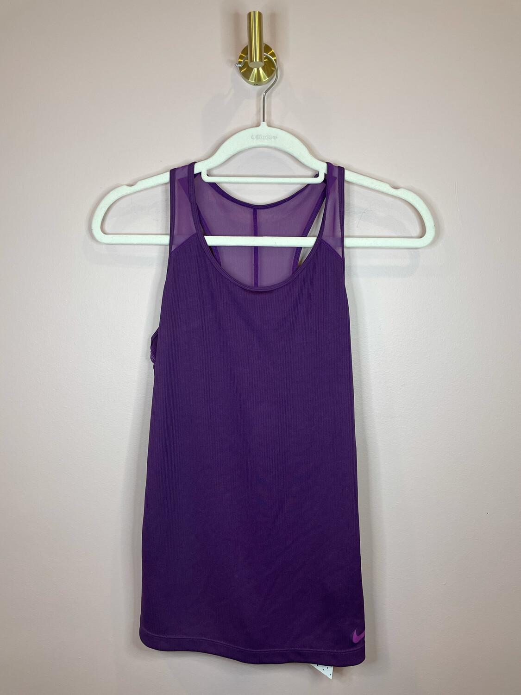 Nike Purple Dri-Fit Tank - S
