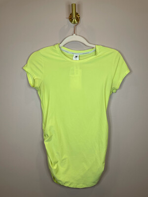New Balance Yellow Cinch Side Athletic Top - S