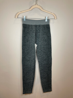 Nikibiki Black & Grey Patterned Leggings - O/S