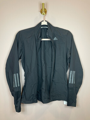 Adidas Black Zip Up Athletic Jacket - XS