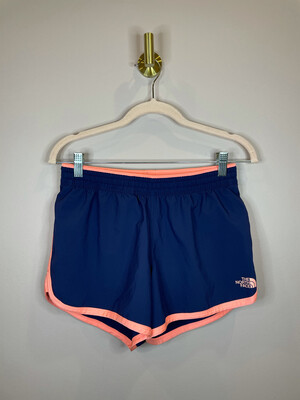 The North Face Navy Short w/Peach Trim - S