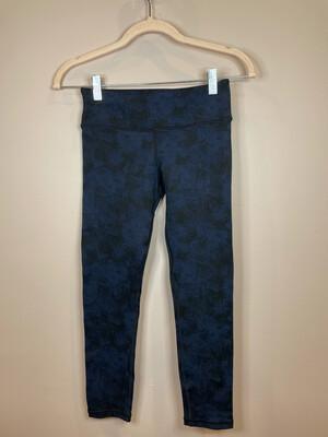 VIMMIA Blue & Black Patterned Leggings - XS