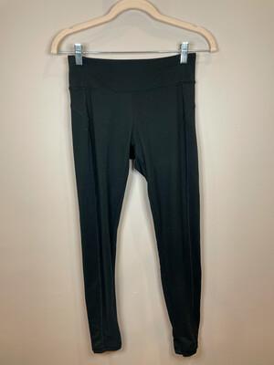 Balance Black Athletic Pants w/Cut Out Accent - S