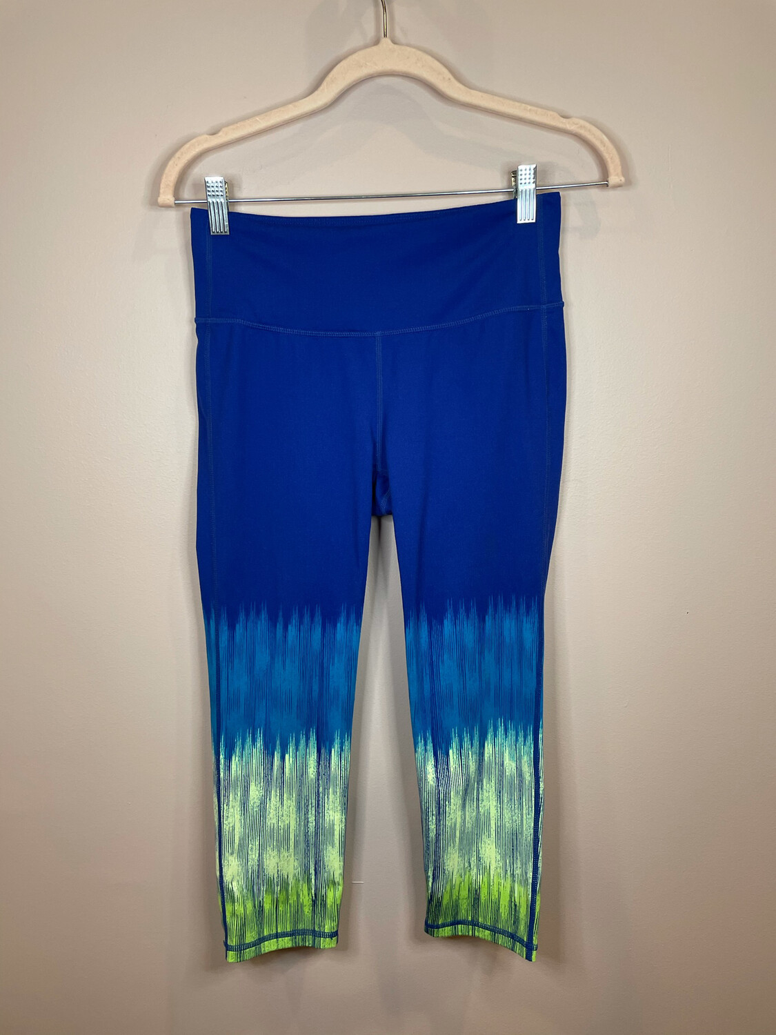 Athleta Blue Athletic Pants with Color Fade - S