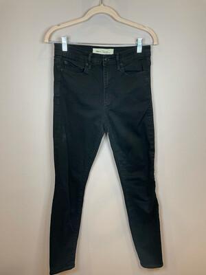 Gap Black True Skinny Super High Rise Jeans - Size 28