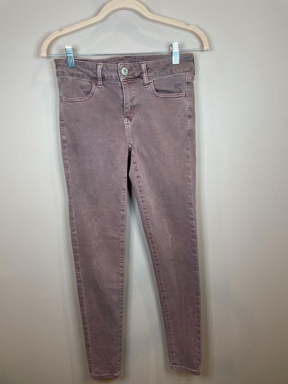 American Eagle Mauve Skinny Jeans - Size 4