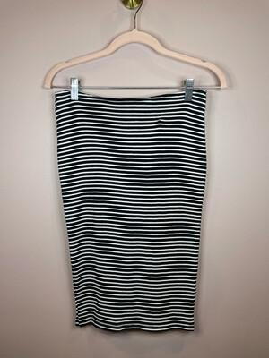 Michael Stars Black & White Striped Skirt - XS
