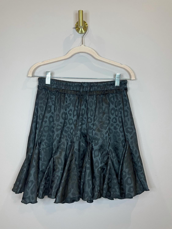 Jodifl Black Animal Print Skirt - S