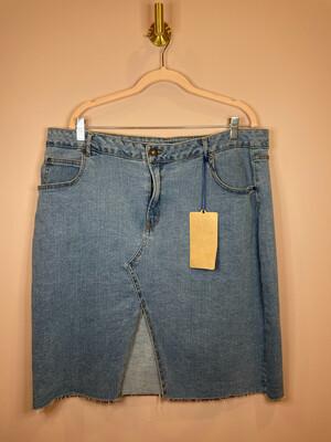 Highway Jeans Denim Skirt - 2X