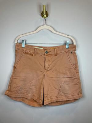 Pilcro and the Letterpress Orange Hyphen Shorts - Size 27