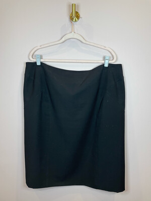 Worthington Woman Black Skirt - Size 20W