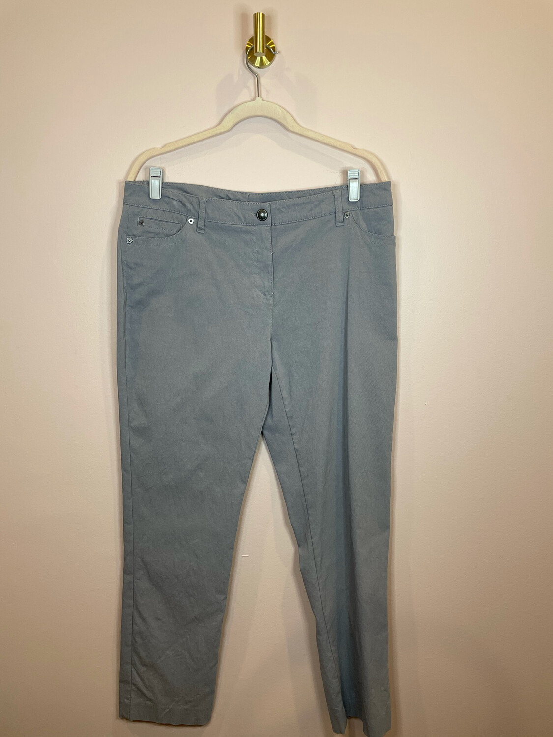 New Direction Grey Pants - Size 14