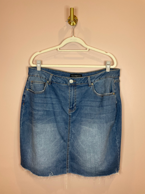 Eloquii Denim Skirt - Size 18