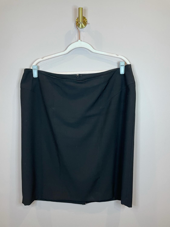 Worthington Woman Black Skirt - Size 18W