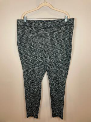 Livi Active Black, Olive, & White Athletic Pants - Size 22/24