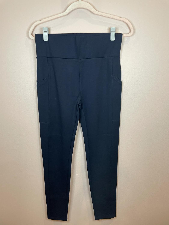 Lou & Grey Navy Pants - M