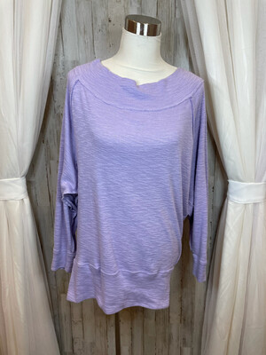 We The Free Purple Top - L