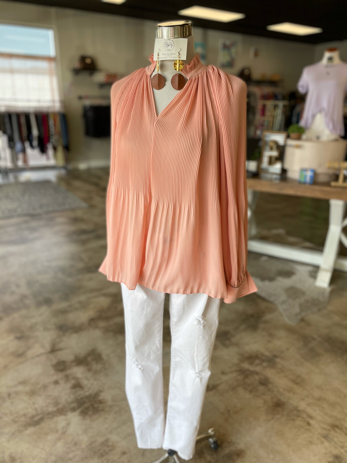 The Limited Collection Peach Top - L